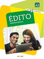 Edito 2 niv.A2 - Livre + CD mp3 + DVD