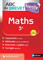 ABC du BREVET Réussite Maths 3e