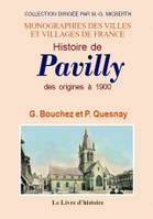 Pavilly, des origines à 1900