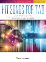 Hit Songs for Two Trombones, Easy Instrumental Duets
