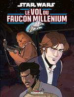 Star Wars / le vol du Faucon Millenium