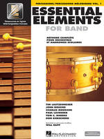 Essential Elements 1 - pour percussions