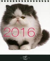 Calendrier de table / chats 2016