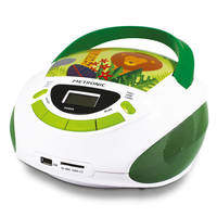 Radio cd Jungle Mp3 Enfant, vert