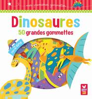 Dinosaures - 50 grandes gommettes