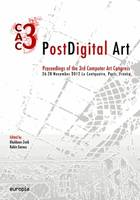 PostDigital Art, Proceedings of the 3rd Computer Art Congress [CAC.3]