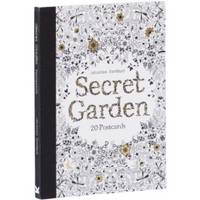 Secret garden 20 postcards / anglais
