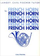 LANGEY-FISCHER TUTOR FOR FRENCH HORN COR