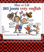 MAX ET LILI 365 JOURS VERY ENGLISH (CALENDRIER), 365 jours very English