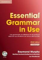 Essential Grammar in Use Student Book with Answers and CD-ROM French Edition, Elève+CD-Rom+corr