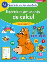 Exercices amusants de calcul (6-7 a.) - (J'apprends avec des autocollants)
