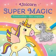 Unicorn super magic / toverkrasblok