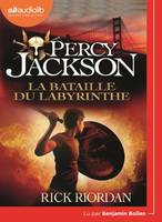 Percy Jackson 4 - La Bataille du labyrinthe, Livre audio 1 CD MP3