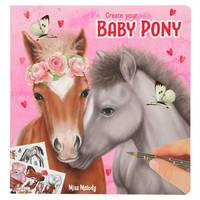Miss Melody create your Baby Pony cahier de coloriage