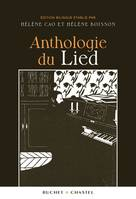 ANTHOLOGIE DU LIED