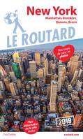 Guide du Routard New York 2019, Manatthan, Brooklyn, Queens, Bronx