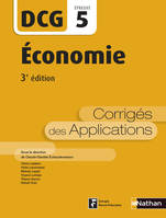5, Economie - Epreuve 5 DCG - Corrigés des applications - 2016