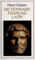 DICTIONNAIRE FRANCAIS-LATIN - - 8 CARTES ET PLANS