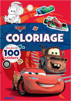Disney Pixar Cars - Coloriage avec plus de 100 stickers (Flash McQueen et Martin)