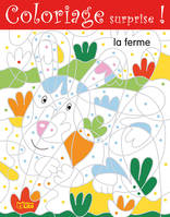 COLORIAGE SURPRISE LA FERME