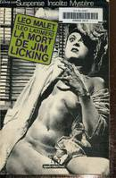 La Mort de Jim Licking ,collection Le Miroir obscur n°50, roman