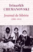 Journal de Sibérie (1903-1911)
