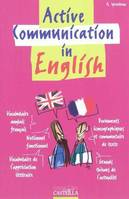 Active communication in english, Livre