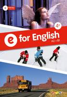 E for English 4e - Manuel + DVD-rom