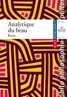 C&Cie – Kant, Analytique du beau