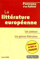 LITTERATURE EUROPEENNE - BAC FRANCAIS