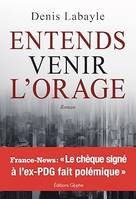 Entends venir l'orage, Thriller