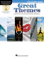 Great Themes - Tenor Saxophone, Instrumental Play-Along