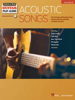 Acoustic Songs, Deluxe Guitar Play-Along Volume 3