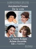 De la voix - 1 CD MP3