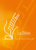 BIBLE SEMEUR COUVERTURE RIGIDE ORANGE