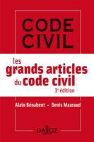 Les grands articles du code civil - 3e ed.