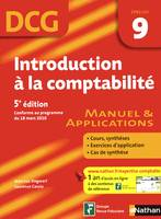 9, Introduction à la comptabilité / DCG épreuve 9 : manuel & applications, manuel & applications