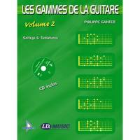 Les Gammes de la Guitare - Volume 2 + CD