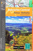 SOBRARBE CENTRAL AINSA-BOLTANA  1/40.000