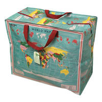 World Map sac de rangement jumbo