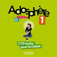 Adosphère 1 - CD audio classe (x2), Adosphère 1 - CD audio classe (x2)