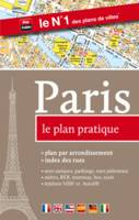 Paris, le plan pratique / plan par arrondissement, index des rues