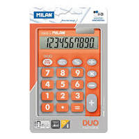 BLISTER CALCULATRICE 10 CHIFFRES TOUCHES GRANDES DUO ORANGE