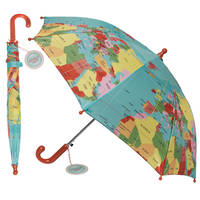 World map parapluie enfant
