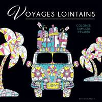 Black coloriage - Voyages lointains