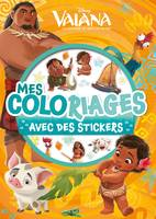 Vaiana, MES COLORIAGES AVEC STICKERS