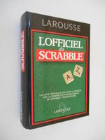 L'Officiel du Scrabble règlement 1994