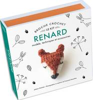 Broche crochet renard, Le kit