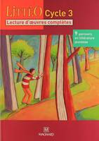 LITTEO CYCLE 3, lecture d'oeuvres complètes