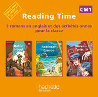 Reading Time CM1 - CD audio classe des 3 ouvrages - Edition 2012